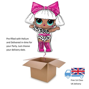 "27"" Large LOL Surprise Doll Girl's Helium balloon in a box Birthday"