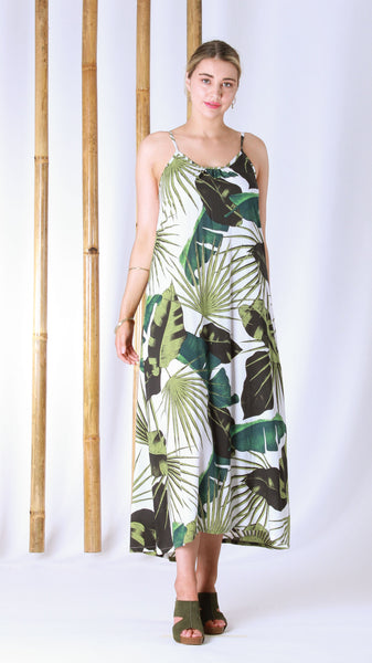 Cascade Dress - Paradise Green