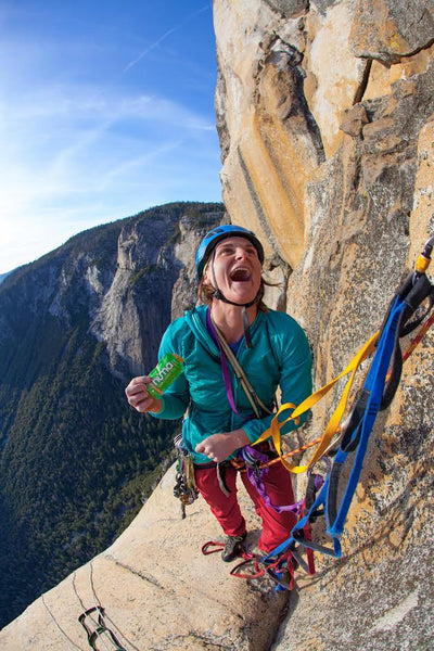 Getting high on El Cap!