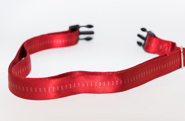 red utility belt for dogs
