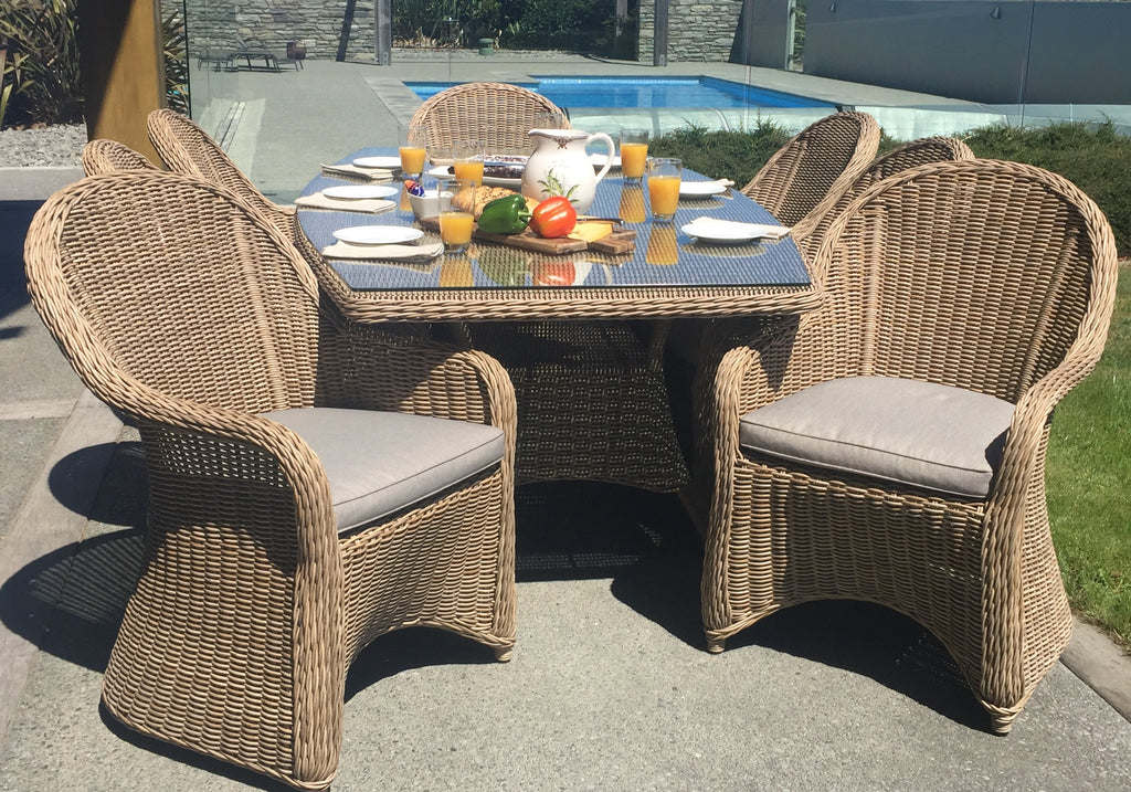 Caring for your outdoor wicker furniture in Winter and Spring