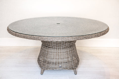 Synthetic All Weather Wicker Round Dining Table (1500mm)