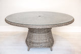 Synthetic All Weather Wicker Round Dining Table (1350mm)