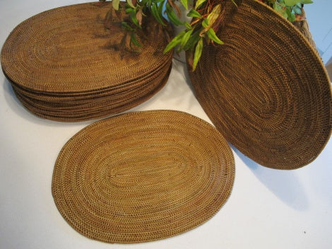 Oval Zen Grass Placemats