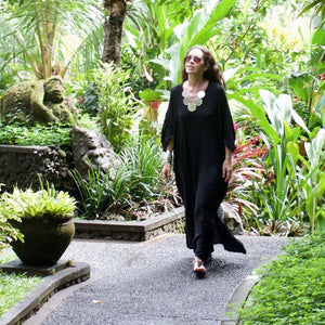 CIRO Kaftan (black)  by herosisters - Luxury handmade silver jewelry and accessories
