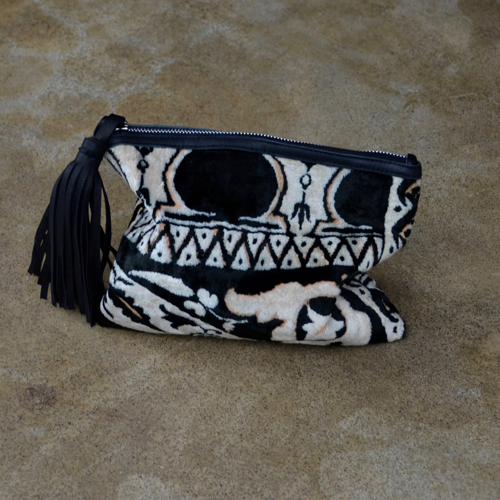 SAHARA Mini Clutch  by herosisters - Luxury handmade silver jewelry and accessories