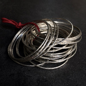 AMALFI Bangles  by herosisters - Luxury handmade silver jewelry and accessories