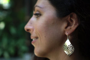 TESS0101 Earrings  by herosisters - Luxury handmade silver jewelry and accessories
