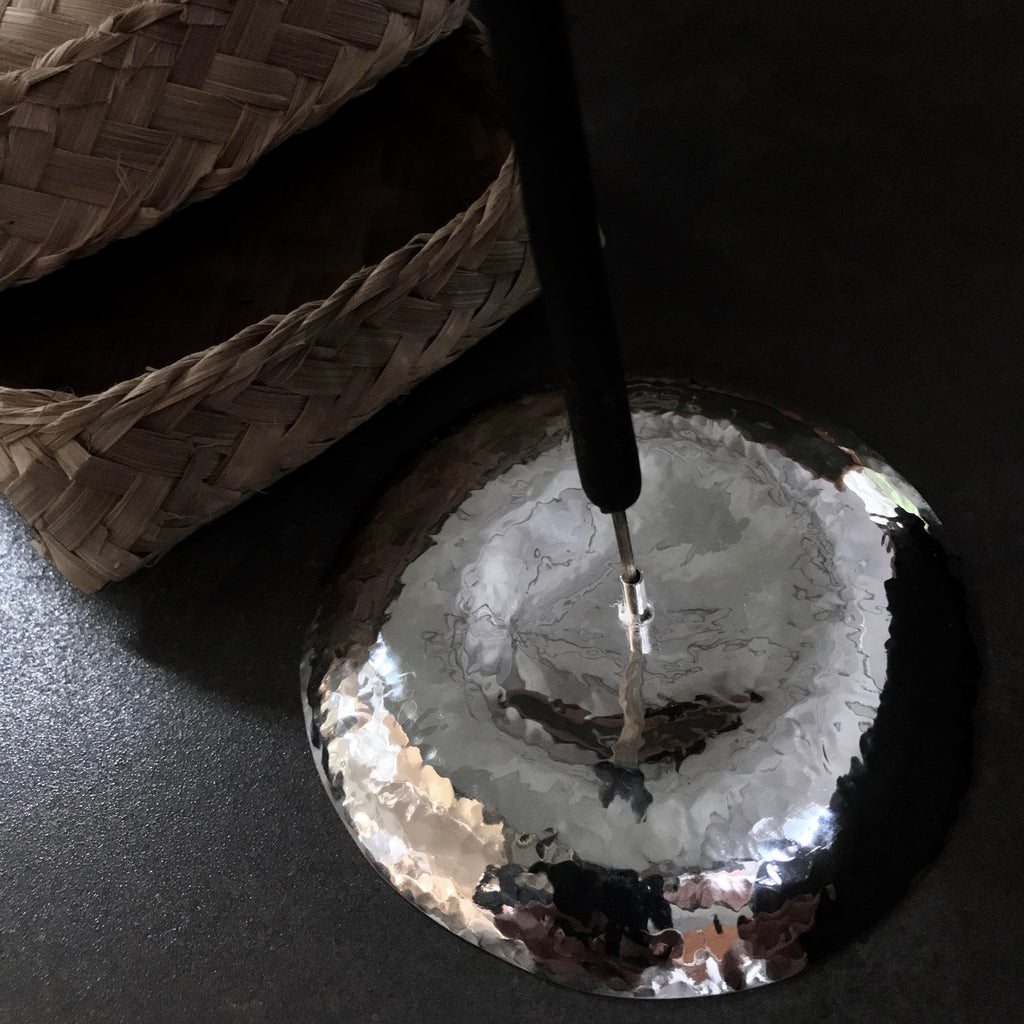 ETU Incense Burner  by herosisters - Luxury handmade silver jewelry and accessories