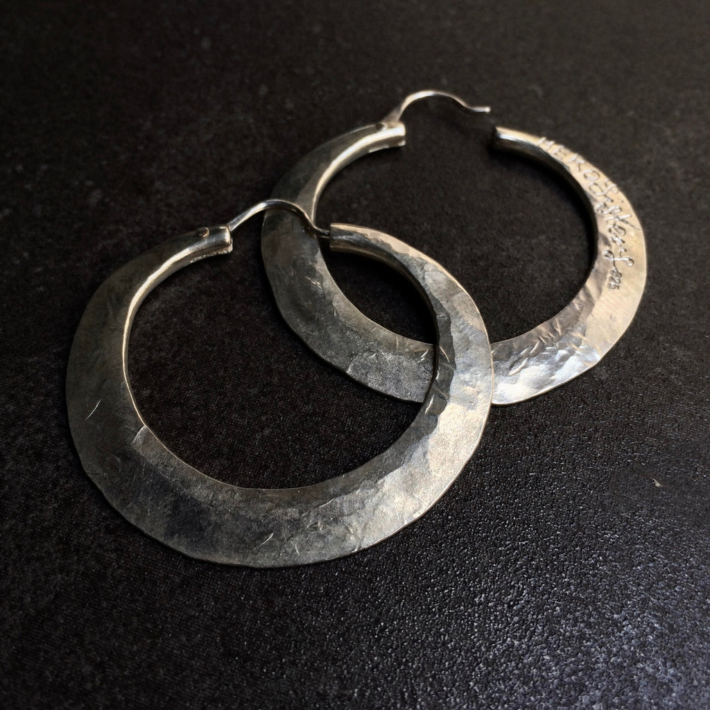 HERO Hoops (small)  by herosisters - Luxury handmade silver jewelry and accessories