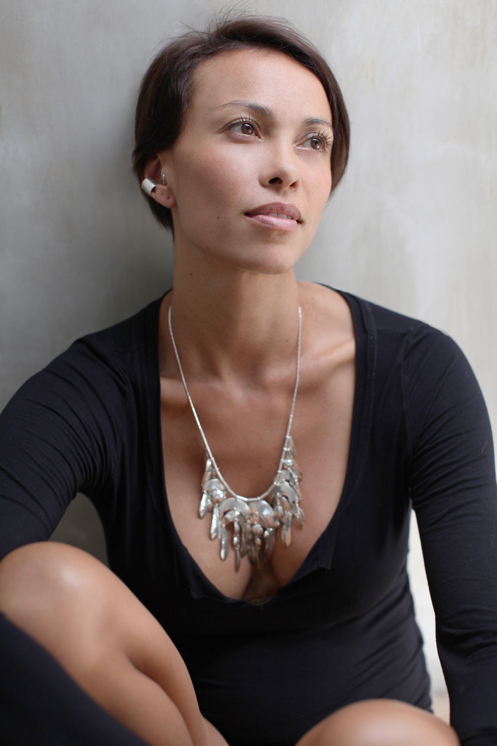MILA2202 Necklace  by herosisters - Luxury handmade silver jewelry and accessories