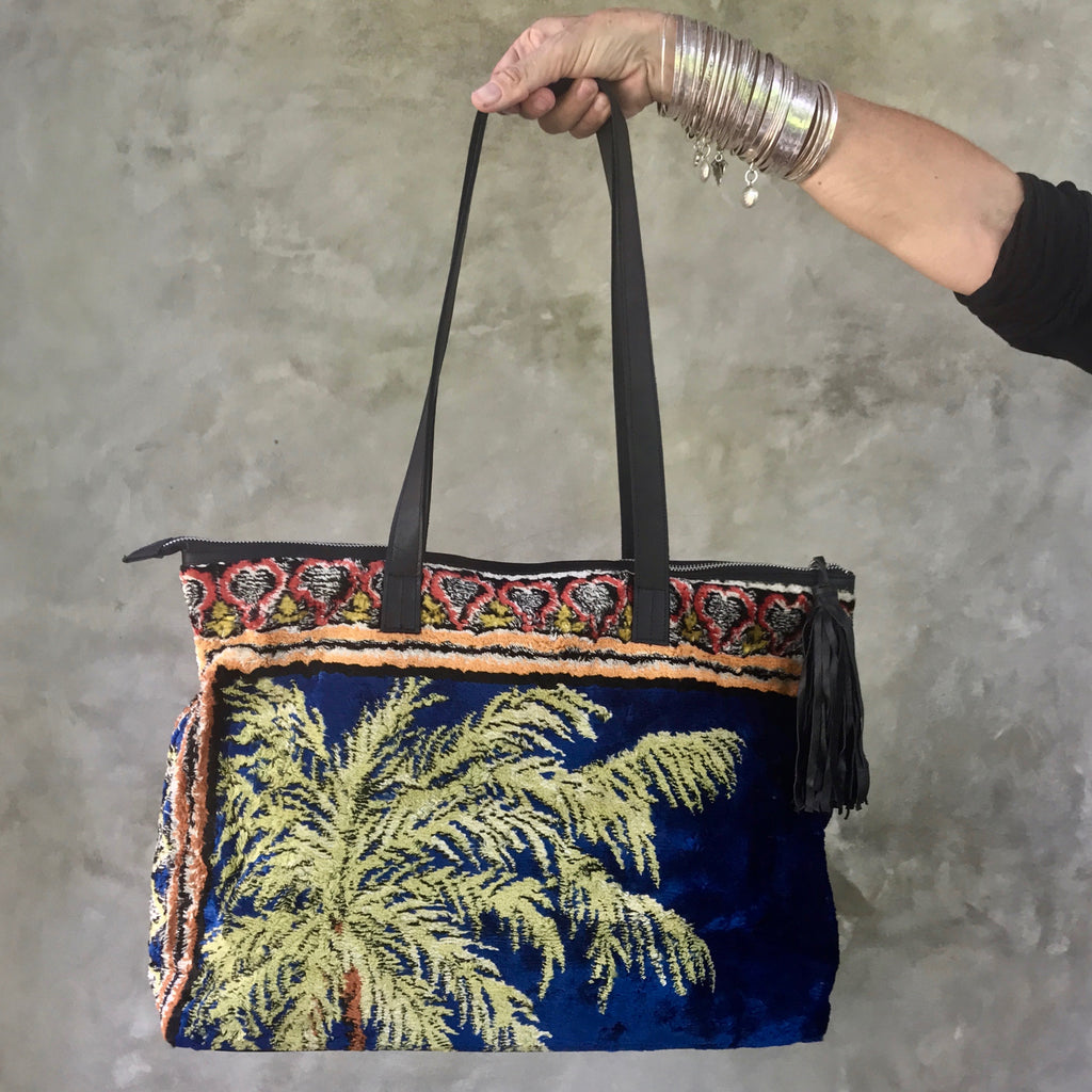 SAHARA Carpet Bag (Night in the Palmerie)