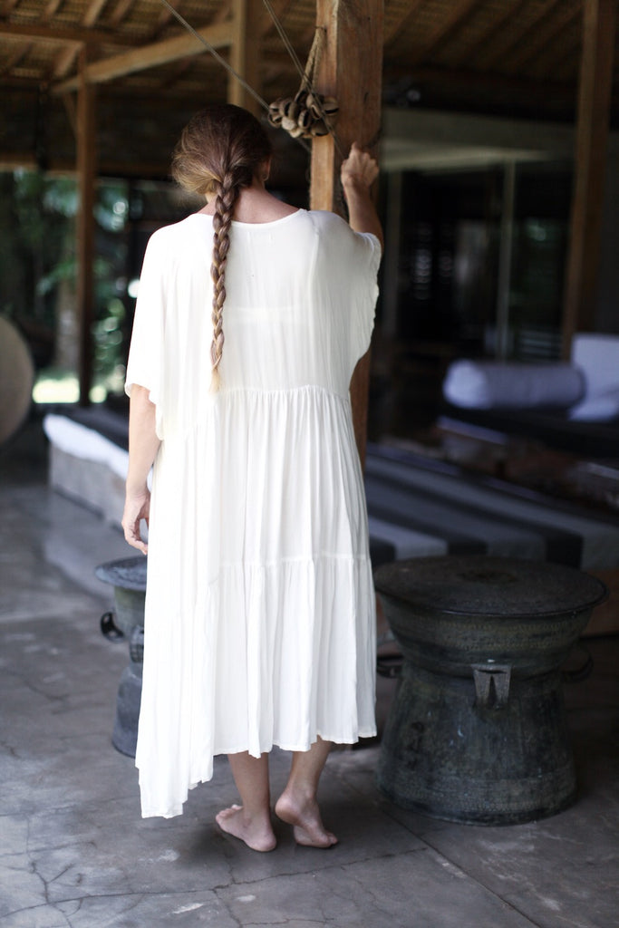 LOULOU Dress (cream/short)  by herosisters - Luxury handmade silver jewelry and accessories