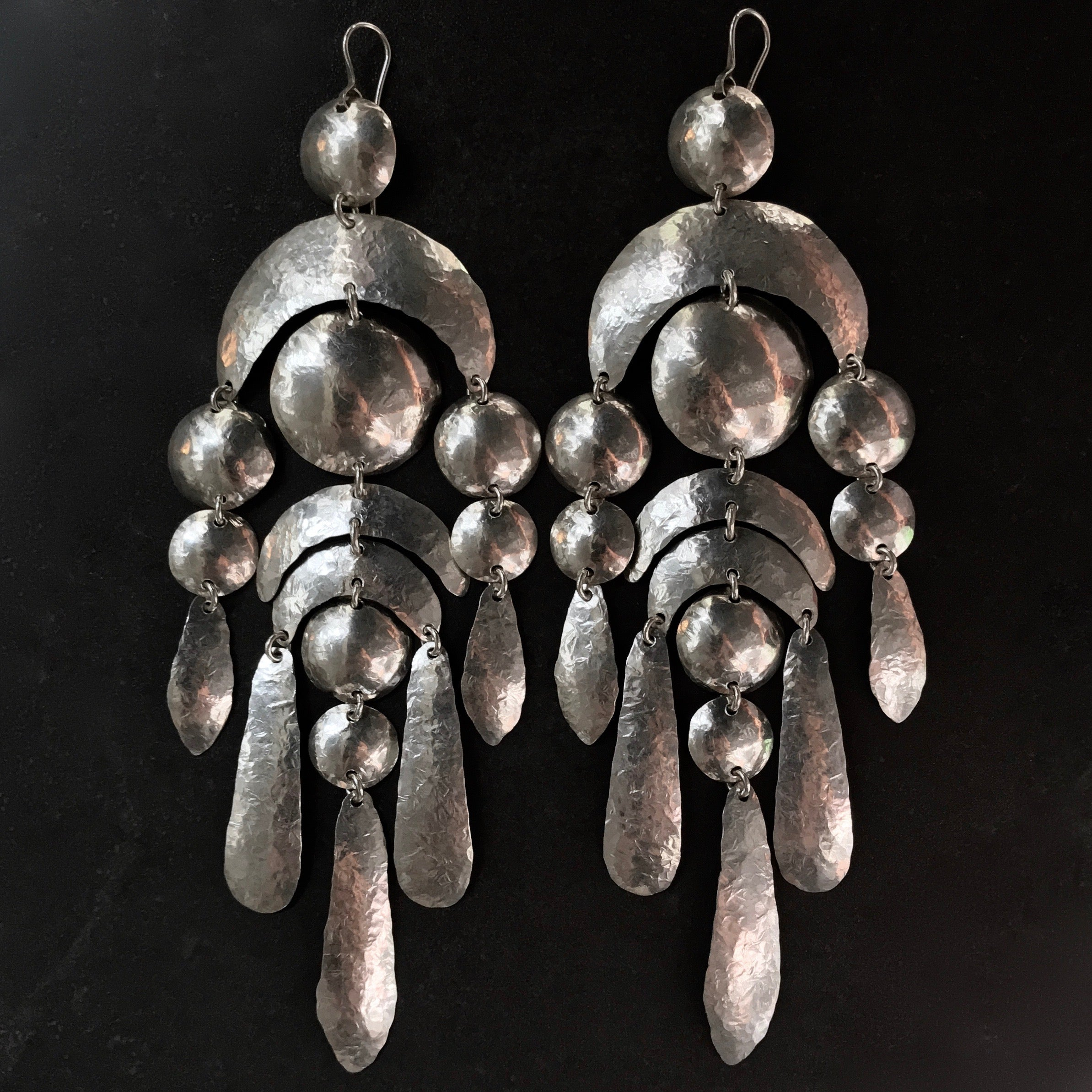 MILA0104 Wild Party earrings  by herosisters - Luxury handmade silver jewelry and accessories