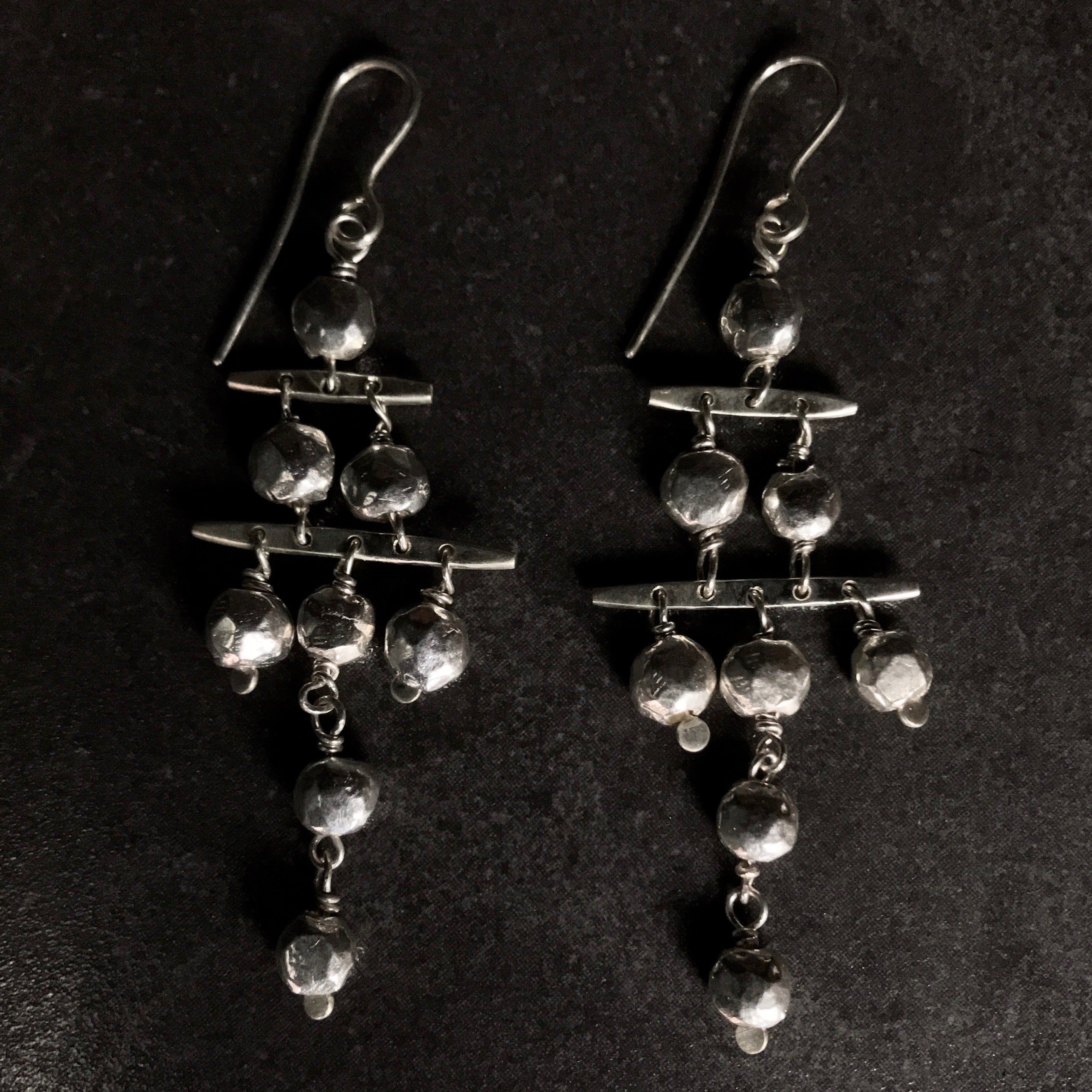 PICOLO0104 Chandelier Earrings  by herosisters - Luxury handmade silver jewelry and accessories