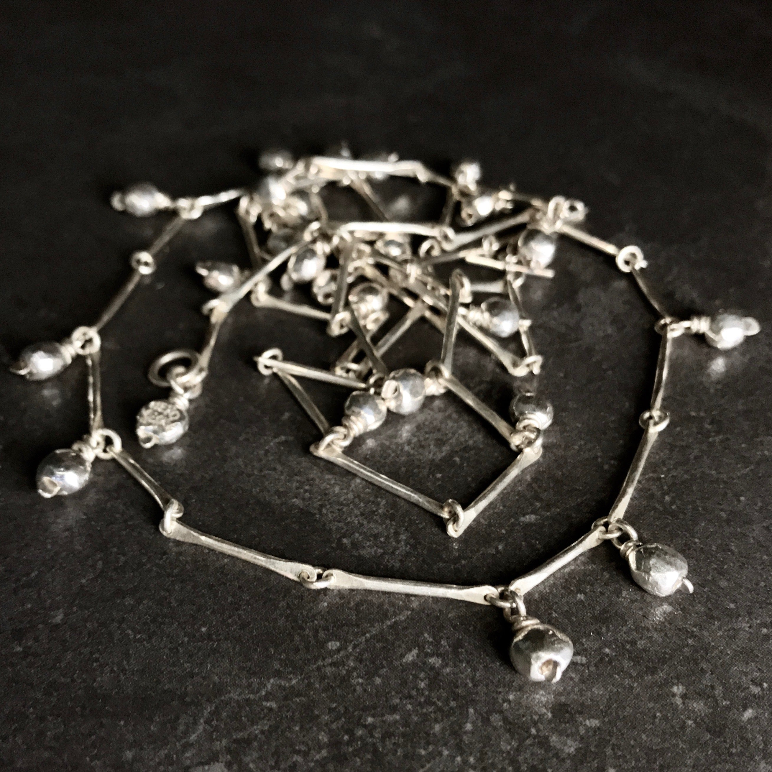 PICOLO2201 Necklace  by herosisters - Luxury handmade silver jewelry and accessories