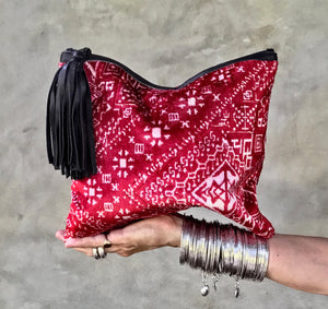 SAHARA Clutch Red (large)