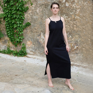 HS Essential Long Jersey Dress (black/long)