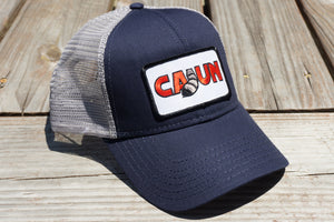 Cajun T-Shirt Club Cajun Hat Blue/Gray