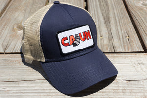 Cajun T-Shirt Club Cajun Hat Blue/Tan