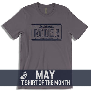 Cajun T-Shirt Club May 2018 T-Shirt of the month