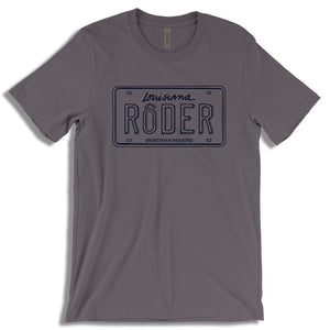 Cajun T-Shirt Club May 2018 T-Shirt of the month Roder shirt