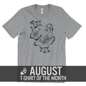 Cajun T-Shirt Club Slice of Life August T-Shirt of the Month