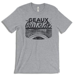 Geaux Outside T-Shirt from Cajun T-Shirt Club
