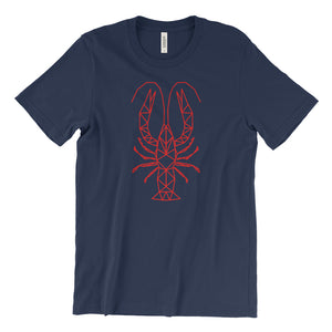 Geometric Crawfish | Unisex T-Shirt