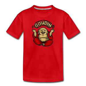 Boudin Buddha | Kids' Premium T-Shirt - red