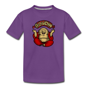 Boudin Buddha | Kids' Premium T-Shirt - purple