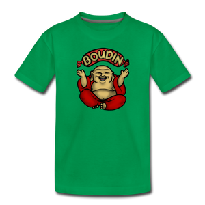 Boudin Buddha | Kids' Premium T-Shirt - kelly green