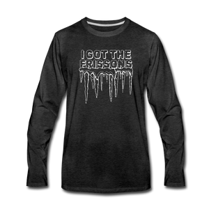 I Got The Frissons | Men's Premium Long Sleeve - charcoal gray