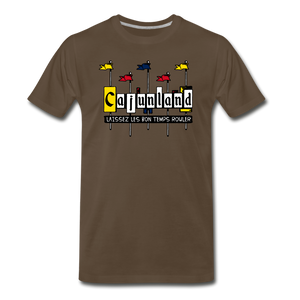 Cajunland | Men's Premium T-Shirt - noble brown