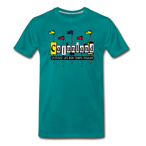 Cajunland | Men's Premium T-Shirt - teal