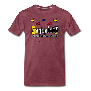 Cajunland | Men's Premium T-Shirt - heather burgundy