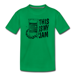 This Is My Jam | Kids' Premium T-Shirt - kelly green