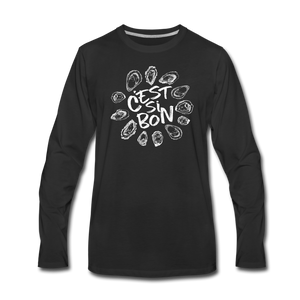 C'est Si Bon | Men's Premium Long Sleeve T-Shirt - black