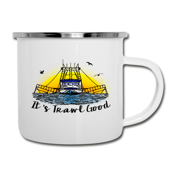 It's Trawl Good-ReBOOT Series | Camper Mug - white