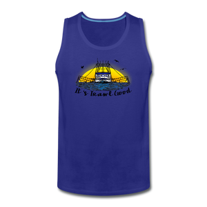 It's Trawl Good-ReBOOT Series | Men's Premium Tank - royal blue