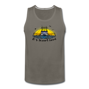 It's Trawl Good-ReBOOT Series | Men's Premium Tank - asphalt gray