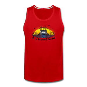 It's Trawl Good-ReBOOT Series | Men's Premium Tank - red