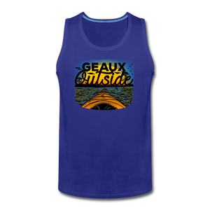 Geaux Outside-ReBOOT Series | Men's Premium Tank - royal blue