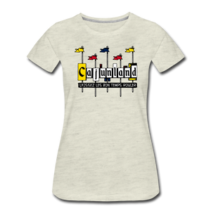 Cajunland | Women's Premium T-Shirt - heather oatmeal