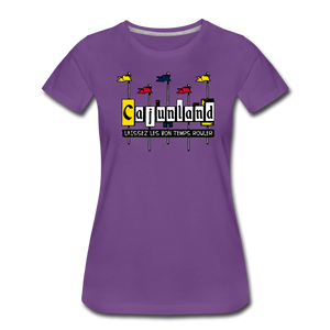 Cajunland | Women's Premium T-Shirt - purple