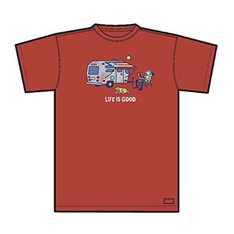 Life is Good Airstream Camper Crusher Tee