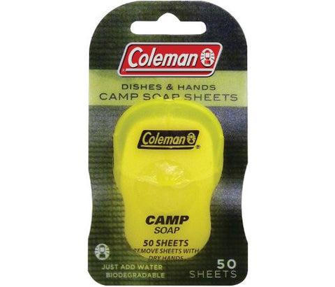 Coleman Biodegradable Soap Sheets