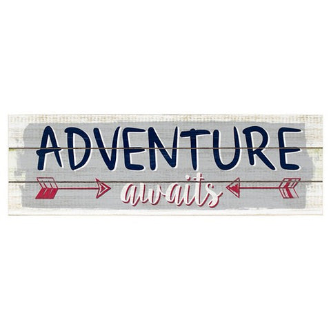 Adventure Awaits Plank