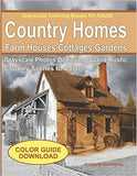 Country Homes, Farm Houses & Cottages Coloring Book