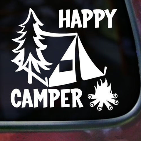 Happy Camper Decals